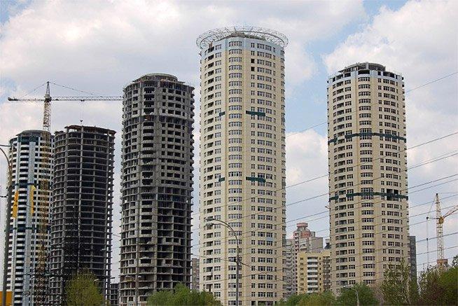 Фундаментные работы, Днепровские башни